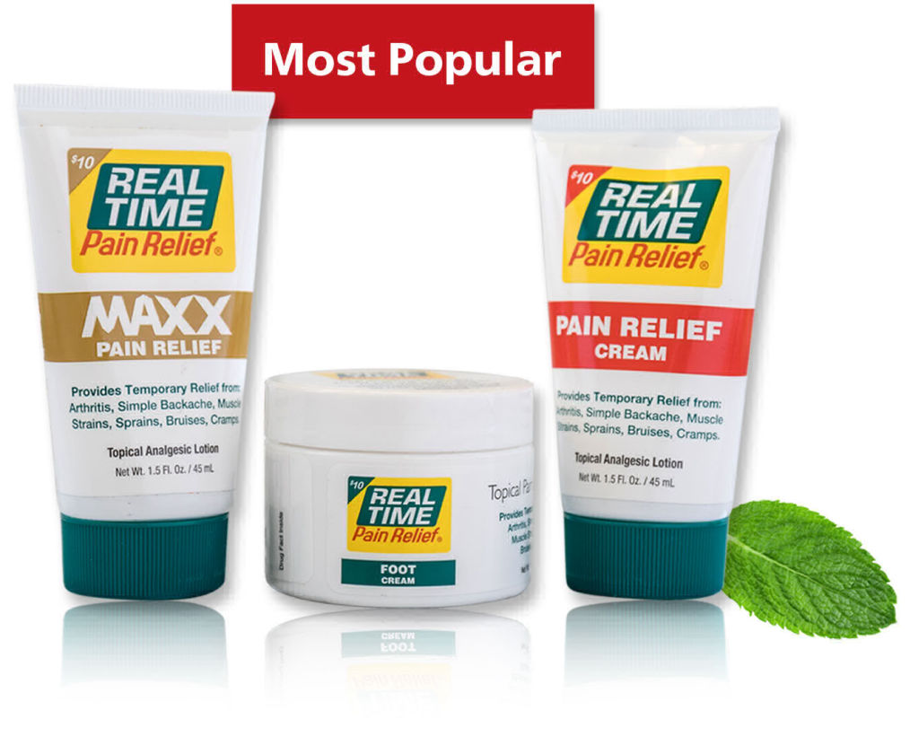 Try America's Best Selling, Most Effective Topical Pain Relief for Only a Buck.  This Offer from Real Time Pain Relief is a No Gimmicks, No Hassle, No Autoship or Subscription Offer...Seriously, it's only a Buck and We Even Pay the shipping!