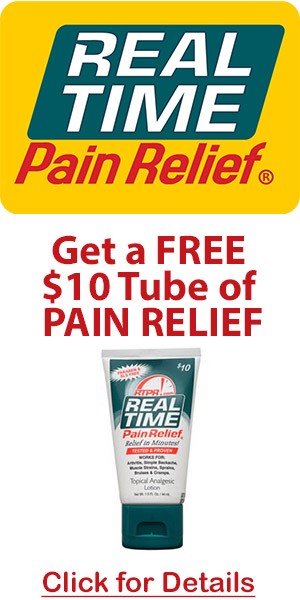 Real Time Pain Relief - Rub It On and The Pain Is Gone!