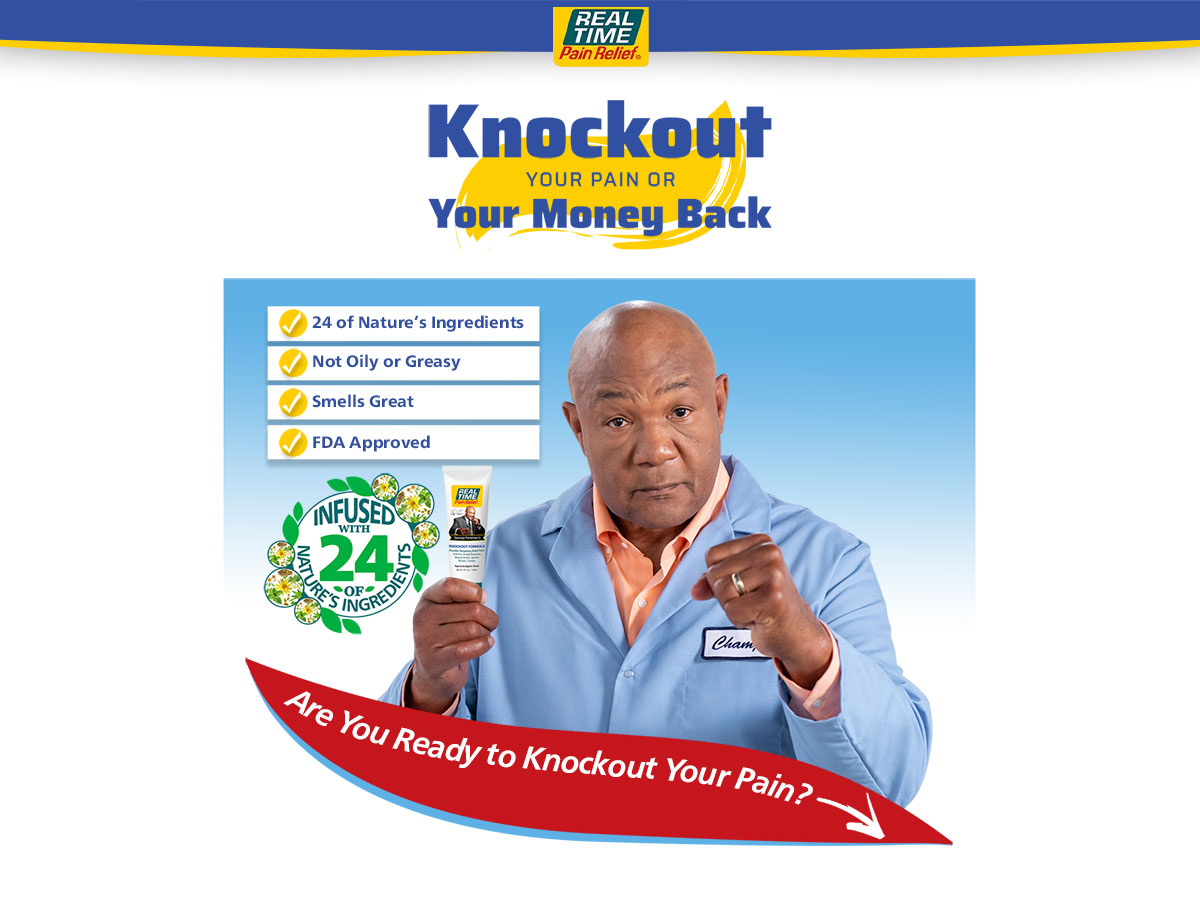 George Foreman's Knockout Formula New Customer Special Offers