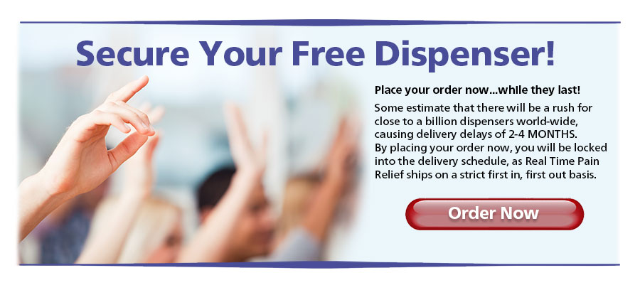 Secure Your Free Dispenser! Place your order now... while they last!