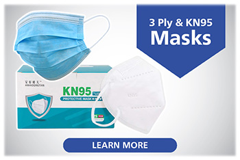 KN95 and 3-Ply Adult and Child Face Masks now Availible ...Click to Learn More