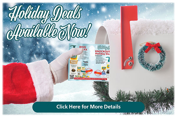 Holiday Specials Available Now...Click Here