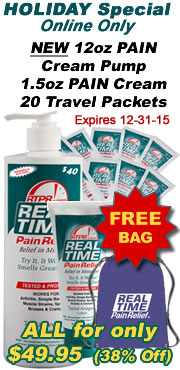 Real Time Pain Relief Monthly Special