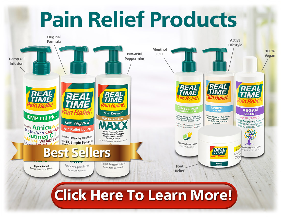 Safe, Effective and Fast-Acting Pain Relief - Click to Learn More