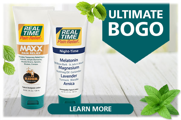 It's time for ultimate savings on ultimate pain relief. For this special offer, when you buy a tube of our limited production 5oz tube of our popular formula, MAXX Pain Relief, you'll also receive a 3oz tube of NIGHT-TIME Relief! ...Click Here
