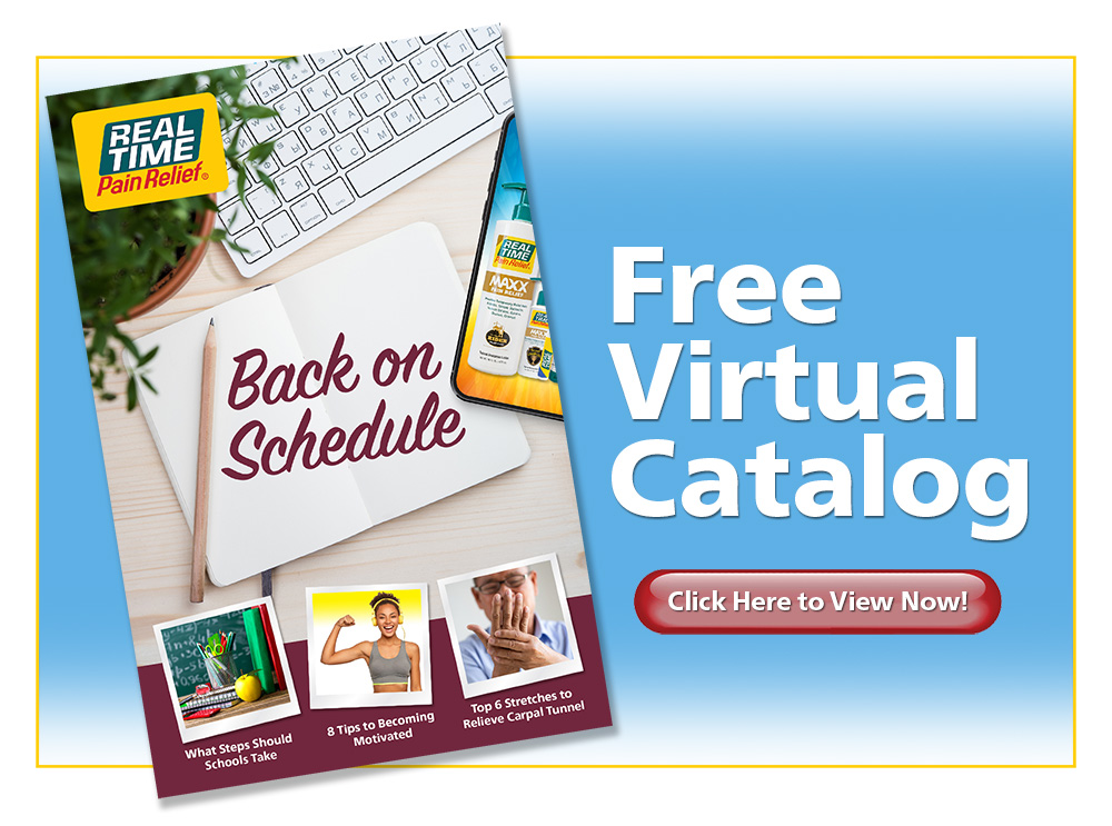 Enjoy Summer Pain Free...FREE Virtual Catalog, Click to Access