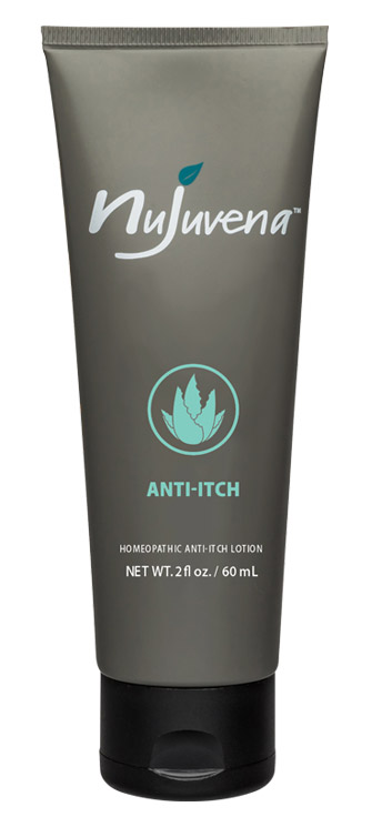 Anti-Itch by Nujuvena is a soothing lotion that helps to calm and hydrate dry, itchy, irritated skin without the use of steroids. And, with the homeopathic active ingredient helichrysum, Anti-Itch by Nujuvena helps to soothe skin fast and it may even help to restore itchy and inflamed skin to a healthy, itch-free state.