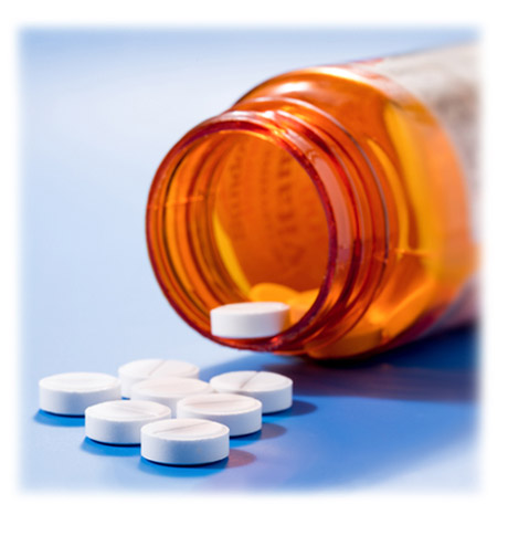 NSAIDS (ibuprofen, acetaminophen, aspirin, etc.) or prescriptions for your chronic pain