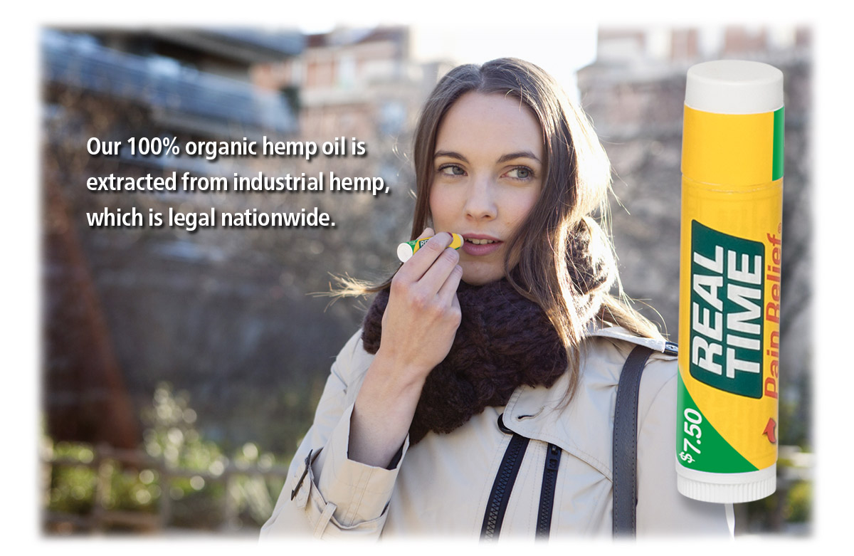 Our 100% organic hemp oil is extracted from industrial hemp, which is leagal nationwide