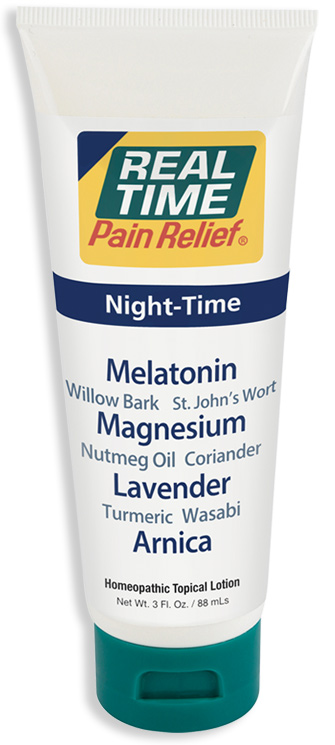 Night-Time Pain Relief Cream Tube