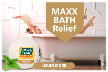 Experience the same relief that you enjoy from applications of <span class='notranslate'>Real Time Pain Relief</span>'s lotions and creams simply by taking a bath