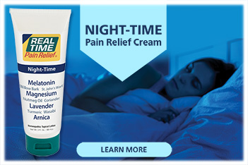 Don't let pain keep you from a good night's sleep. Get fast and relaxing relief with the soothing formula of NIGHT-TIME Pain Relief Cream