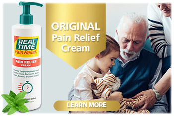 Real Time PAIN Cream delivers fast, targeted pain relief