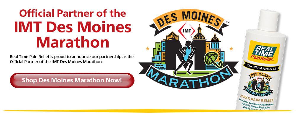 Official Partner of the IMT Des Moines Marathon