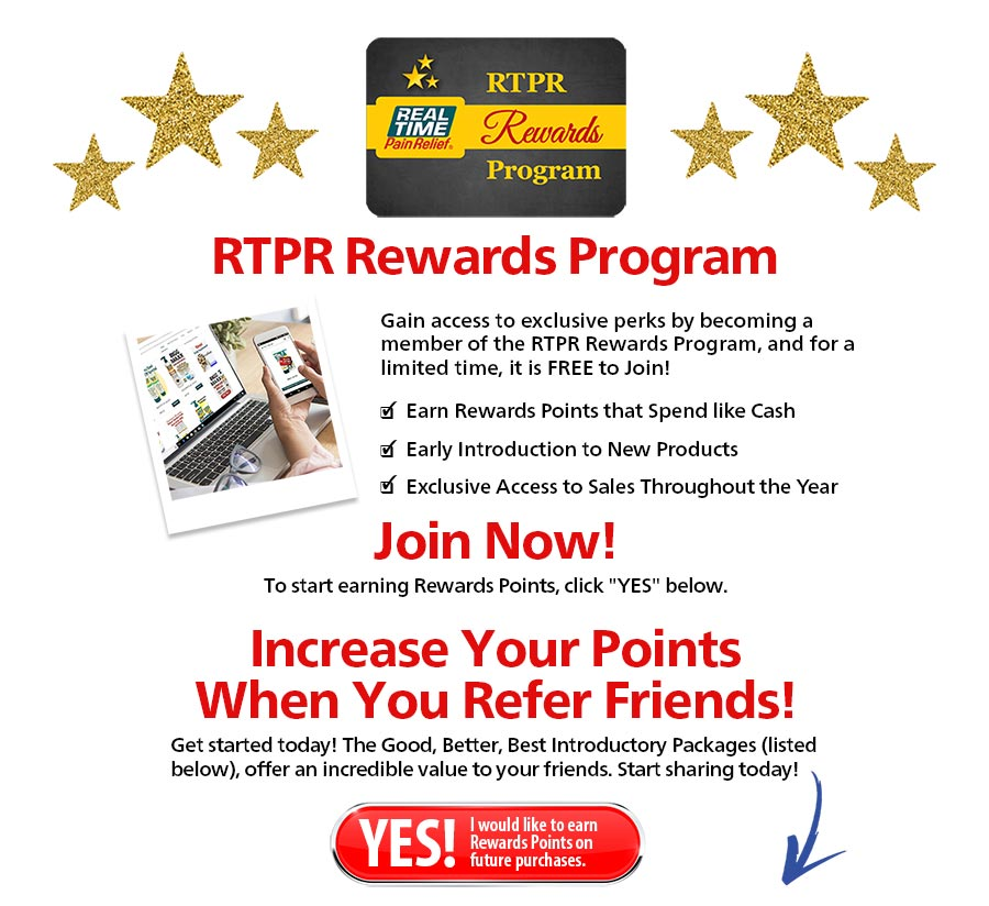 RTPR Rewards Program...Gain access to exclusive perks by becoming a member of the RTPR...Click to Join Now