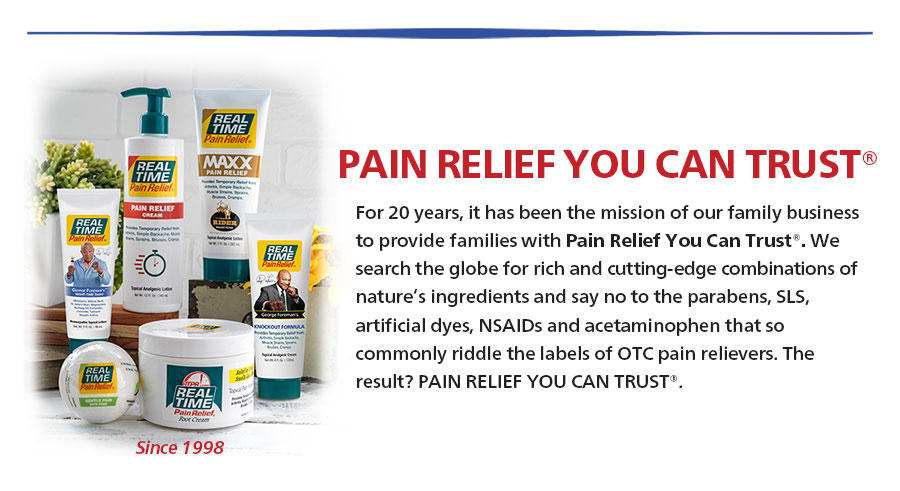 Pain Relief You Can Trust