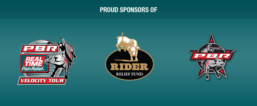 Proud Sponsors of the Professional Bull Rides and the Rider Relief Fund
