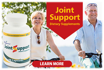 Joint Support Supplement...Specifically formulated to help support joint structure, increase flexibility and mobility, and improve joint comfort