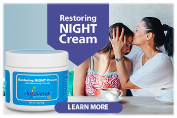 Restoring NIGHT Face Cream...Made with 21 of Nature's Ingredients, this rich night cream delivers nourishment to rejuvenate your skin while you sleep