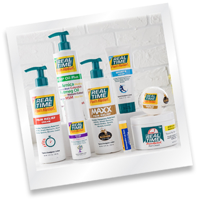 Full Line of Pain Relief Products