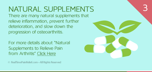 natural supplements can relieve OA