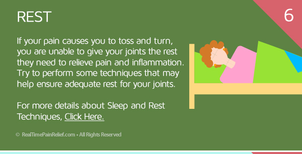 Rest can relieve osteoarthritis pain