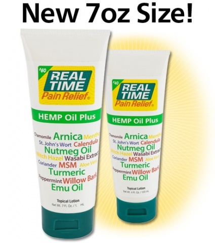 Real Time Hemp Oil Plus