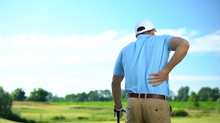 Is Back Pain Killing Your Golf Score