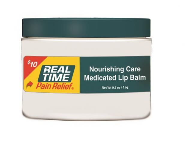 <span class='notranslate'>Real Time Pain Relief</span> Medicated Lip Balm