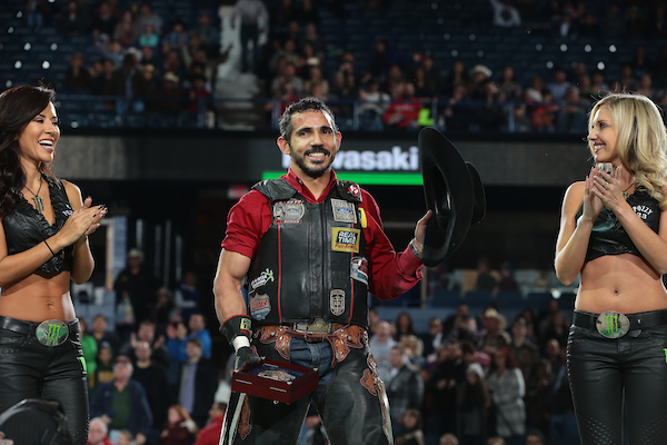 Rubens Barbosa Wins PBR's Chicago Invitational