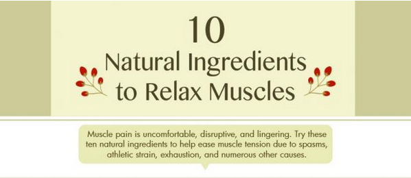 How to Relax Muscles with Natural Ingredients