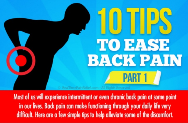 Natural Ways to Ease Back Pain
