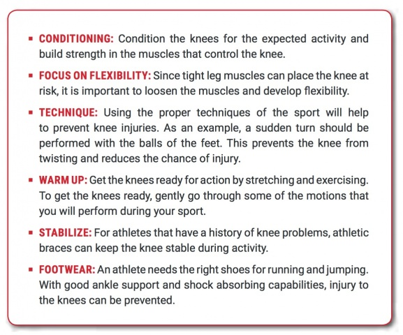 Tips to Prevent Knee Injuries