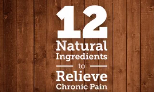 How to relieve pain with natural ingredients