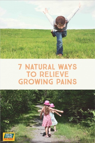 7 Natural Remedies to Relieve Growing Pains
