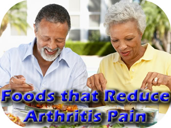 Foods can lower arthritis pain