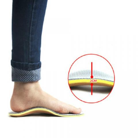 Foot support is important for improving posture