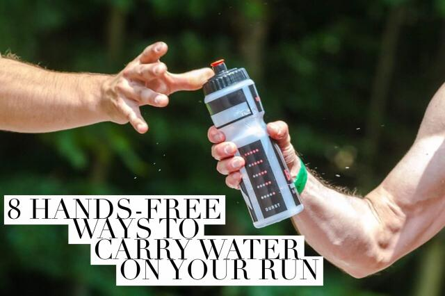 8 Hands-free Ways to Carry Water On Your Run