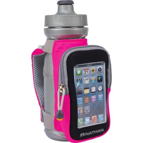 hand strap carrier is a hands-free way to carry water on your run