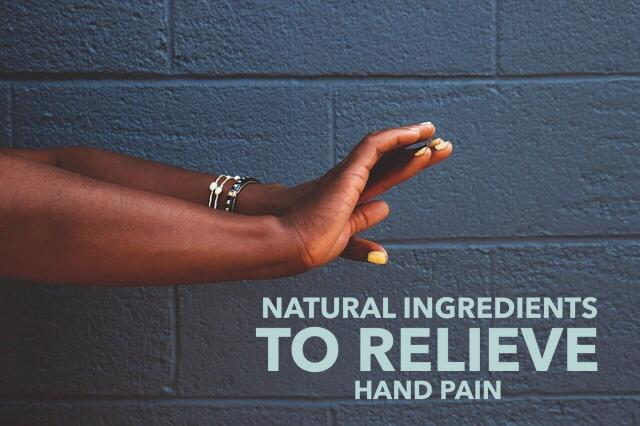 Natural-ingredients-that-relieve-hand-pain