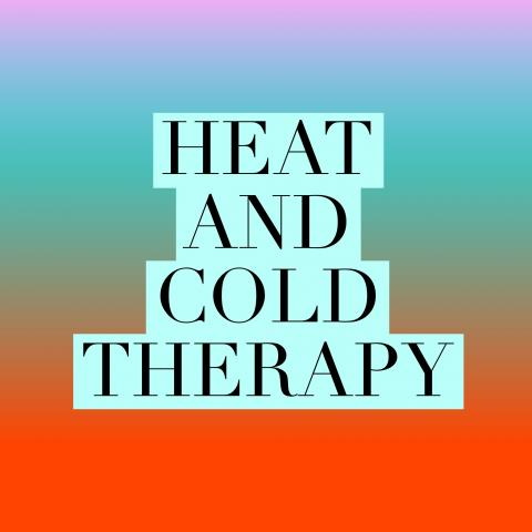 Heat and cold therapy are natural ways to reduce chronic pain