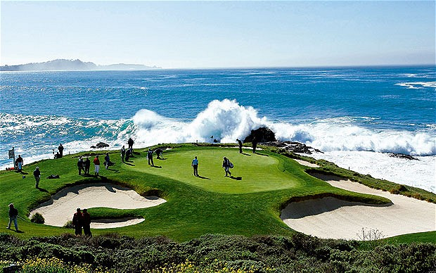 Pebble Beach Golf Links Real Time Pain Relief