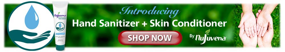 Hand Sanitizer + Skin Conditioner Shop Now