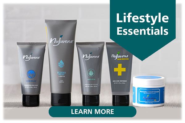 Support your happy, healthy lifestyle with NUJUVENA from the makers of <span class='notranslate'><span class='notranslate'>Real Time Pain Relief</span></span>. Each daily care product is rich in nature's ingredients, free of unwanted fillers like parabens, SLS, and dye, and designed to make taking care of yourself easier... Explore below to discover how Nujuvena can help you live your best life!...Click Here