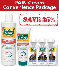 PAIN Cream Convenience Pack