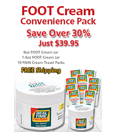 FOOT Cream Convenience Pack