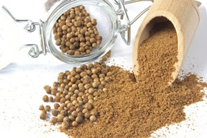 Coriander can be used for pain relief
