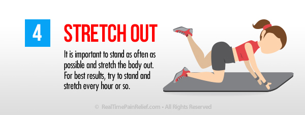 Stretch out to ease back pain