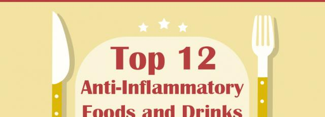 Top 12 Anti-inflammatory foods