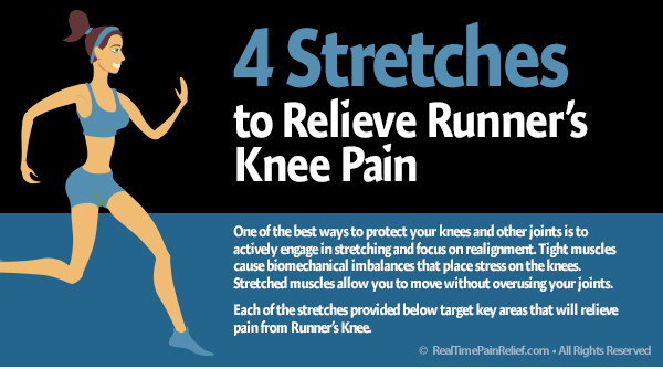 stretches to relieve runner's knee pain
